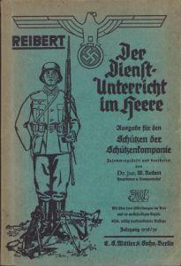 Wehrmacht ''Schützenkompanie'' Reibert (1938/39)