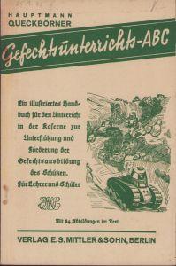 Rare Gefechtsunterrichts-ABC 1935 Booklet