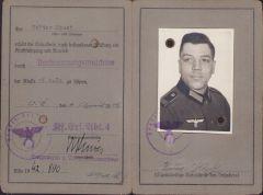 Wehrmacht-Führerschein (Kf.Ers.Abt.4)