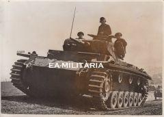 Panzer III Press Photo