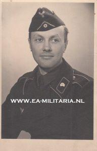 Portrait Panzer Soldier