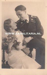 Panzer Soldier's Wedding Photo (1)