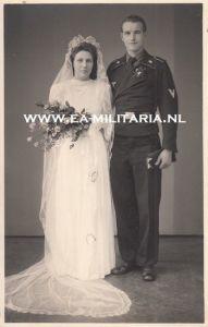 Panzer Soldier's Wedding Photo (2)