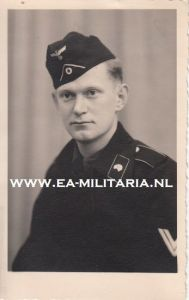 Portrait of a Panzer Crewmember