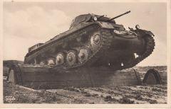 Panzer II Photo Postcard