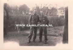 Photograph of 2 StuG Soldiers