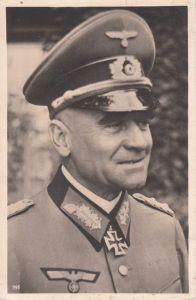 Ritterkreuzträger Postcard ''Generaloberst Heitz''