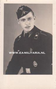 Panzer Portrait with Panzerkampfabzeichen