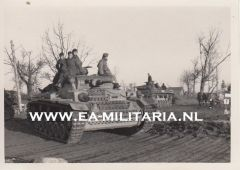 Private Made Panzer III Photograph