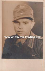 DAK Unteroffizier Portrait Postcard