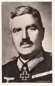Ritterkreuzträger Postcard ''Generalmajor Eibl''