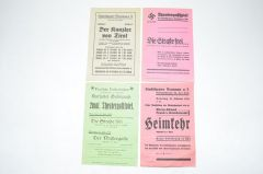 4x Third Reich Theater Posters