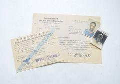 Waffen-SS Translater Document Lot