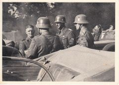 Polizei-SS Propaganda Postcard