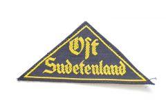 HJ ''Ost Sudetenland'' Sleeve Triangle
