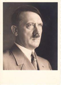 Adolf Hilter Portrait Postcard