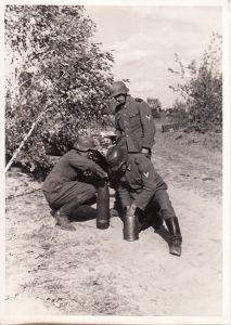 Wehrmacht ''Haubitze 15cm'' Presse Foto