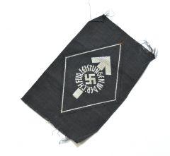 HJ Leistungsabzeichen in Silber Cloth Version
