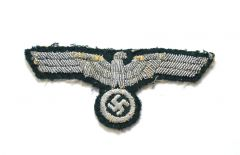 Worn Wehrmacht Officers Breast Eagle
