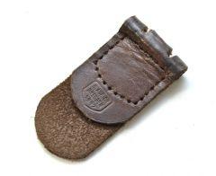 Leather Buckle Tab (H.Aurich, Dresden) 1942