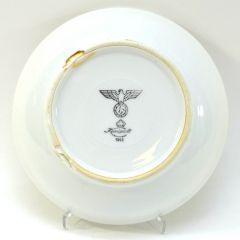 Porcelain Heer Marked Saucer