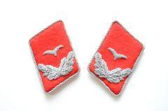 Luftwaffe Flak Leutnant Collar Tabs