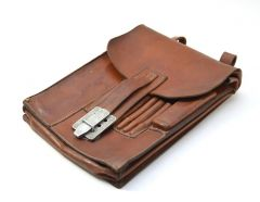 Top! Brown Wehrmacht Mapcase (Named)