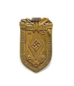 HJ/DAF Reichs-Berufs-Wettkampf 1935 Abzeichen