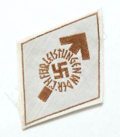 HJ Leistungsabzeichen in Bronze Cloth Version