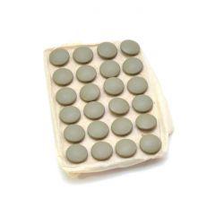 24x Mint Wehrmacht Heer (16mm) Buttons