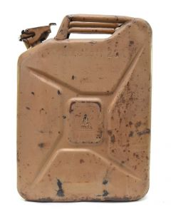 Tan Colored Wehrmacht Jerrycan (1944)