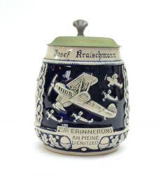 Luftwaffe Flak Beer Stein (Named)