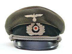Wehrmacht Heer Officer Schirmmütze 1938