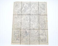 Wehrmacht Pre War Military Map of 'Forchheim'