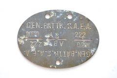 Gen.Battr.S.A.E.A.MOT.70 EKM  (France)