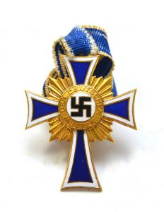 Mothers Cross in Gold