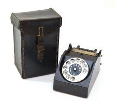 FF33 Field Telephone 'Vermittlungsklinke' with Pouch