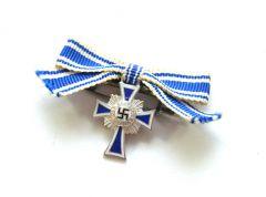 Miniature Mother's Cross in Silver (L/21)