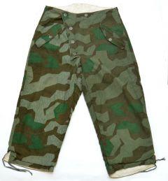 Reversible Splittertarn Camouflage Winter Trousers