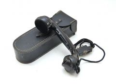 WH Fieldphone with Rare Ersatz Pouch (1943)