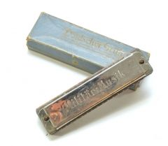 Military Issued Harmonica