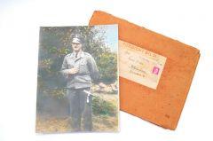 Large Color LW Portrait in Period Envelop