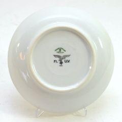 Porcelain Luftwaffe Marked Side Dish Plate (1939)