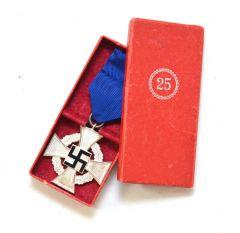 Treudienst-Ehrenzeichen für 25 Jahre