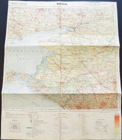 Wehrmacht Map of Rostow