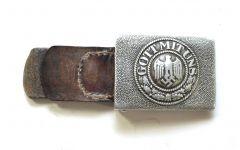 Aluminium WH Heer Buckle with tab (1936)