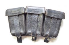 Kriegsmarine Marked K98 Ammo Pouch (1942)
