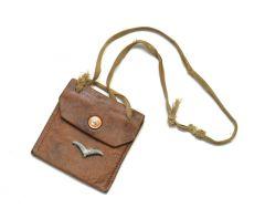 Luftwaffe Leather Erkennungsmarke Tasche