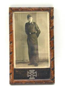 Period Framed Stug Soldier's Portrait