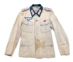 Wehrmacht Artillerie Summer Cloth Tunic
